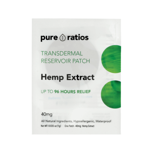 PUR Transdermal Patch 40mg 1